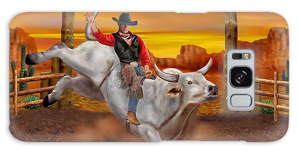 Ride 'em Cowboy Galaxy Case