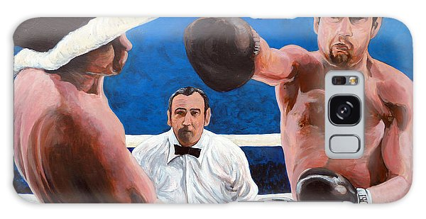 Raging Bull Galaxy Case by Tom Roderick