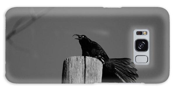 Raging Crow Galaxy Case