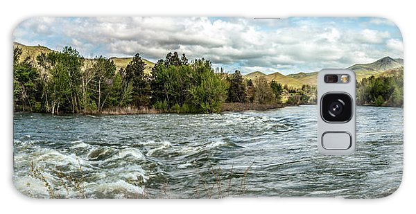 Raging Payette River Galaxy Case by Robert Bales