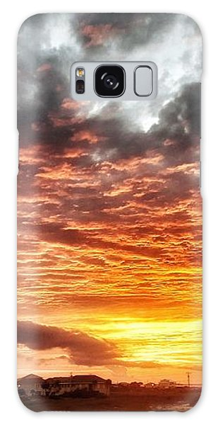 Raging Sunset Galaxy Case
