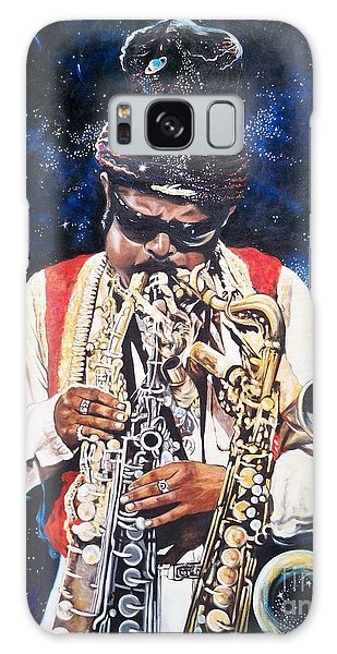 Rahsaan Roland Kirk- Jazz Galaxy Case by Sigrid Tune
