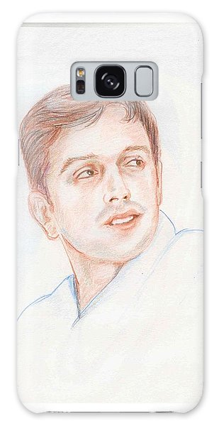 Rahul Dravid  Indian Cricketer Galaxy Case