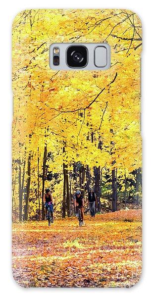 Autumn Glory On The Rail Trail Galaxy Case