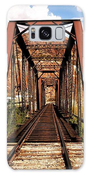 Railroad Bridge Galaxy Case
