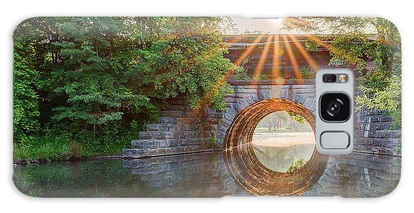 Railroad Bridge Galaxy Case