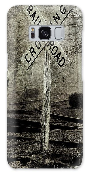 Railroad Crossing Galaxy Case