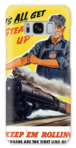 Americana Galaxy Case - Railroads Are The First Line Of Defense by War Is Hell Store