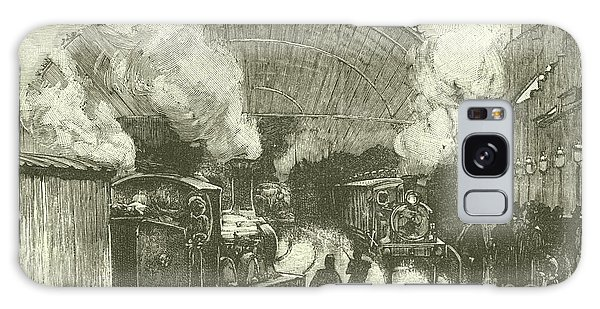 Trains Galaxy Case - Railway Station  by English School