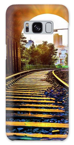 Railway Track Haeundae Galaxy Case