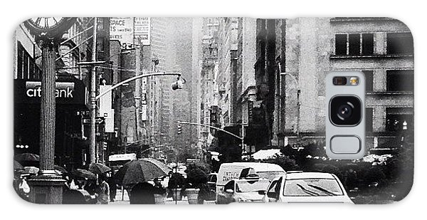 Rain - New York City Galaxy Case