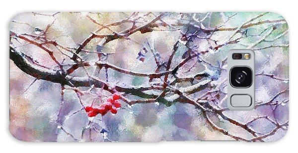 Rain Berries Galaxy Case