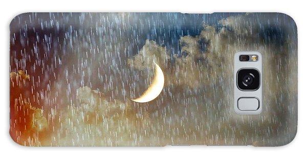 Rain Fall Galaxy Case