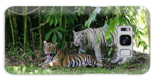 Rain Forest Tigers Galaxy Case