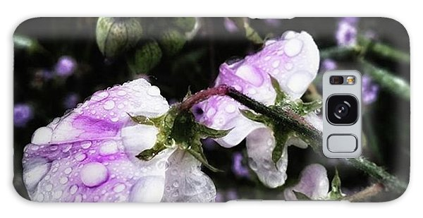 Galaxy Case featuring the photograph Rain Kissed Petals. This Flower Art by Mr Photojimsf