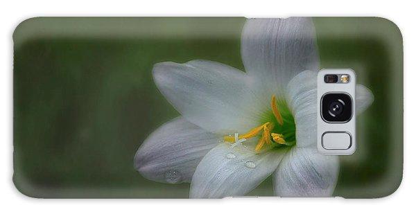 Rain Lily Galaxy Case