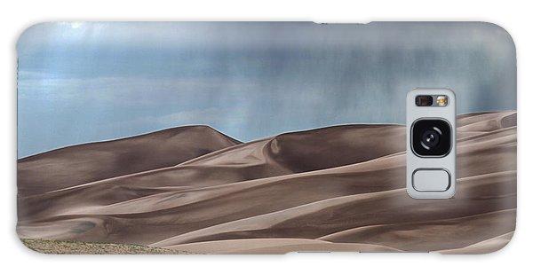 Rain On The Great Sand Dunes Galaxy Case