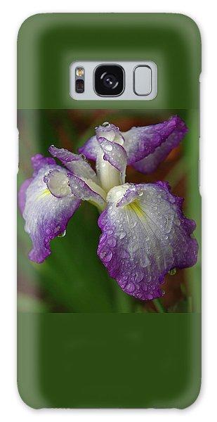 Rain-soaked Iris Galaxy Case