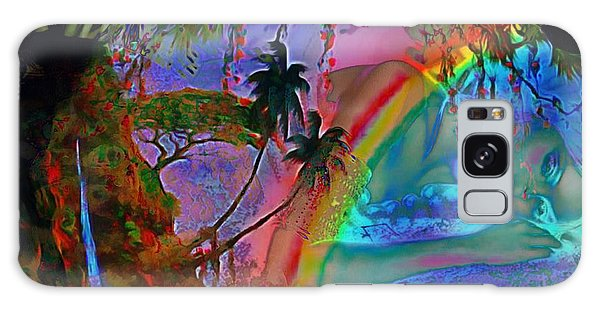 Rainboow Drenched In Layers Galaxy Case