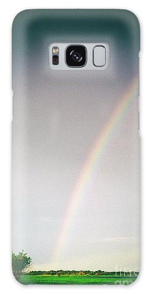 Rainbow #0157 Galaxy Case