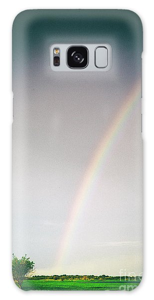 Rainbow #0157 Galaxy Case