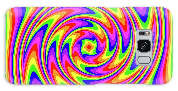 Galaxy Case featuring the digital art Rainbow #2 by Barbara Tristan