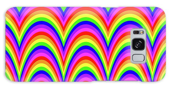 Galaxy Case featuring the digital art Rainbow #4 by Barbara Tristan