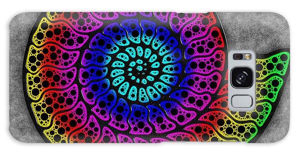 Rainbow Ammonite Galaxy Case
