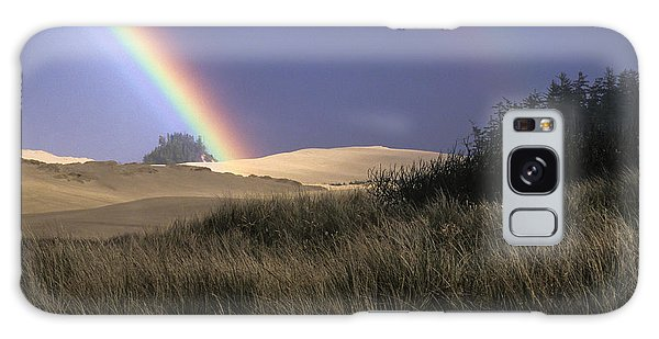 Rainbow And Dunes Galaxy Case