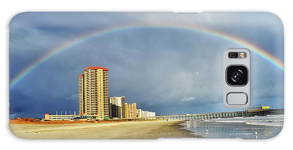 Rainbow Beach Galaxy Case