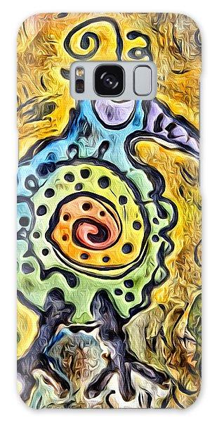 Song Birds Galaxy Case - #rainbow Bird by Modern Art