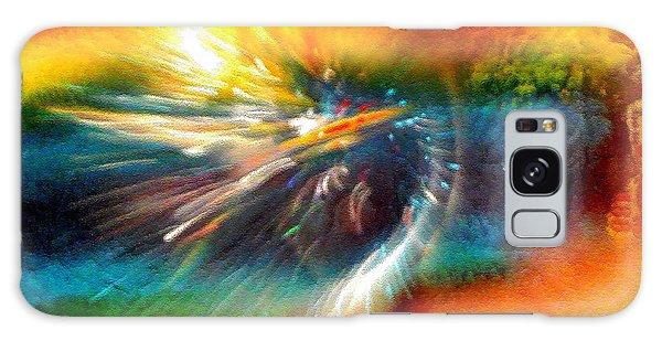 Rainbow Bliss #053329 Galaxy Case by Barbara Tristan
