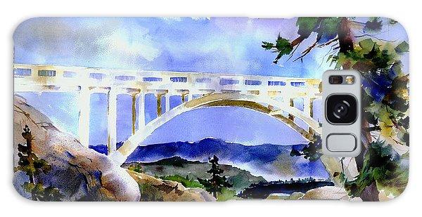Rainbow Bridge Above Donnerlk#2 Galaxy Case