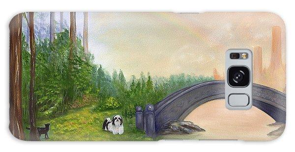 Galaxy Case - Rainbow Bridge by Anne Kushnick