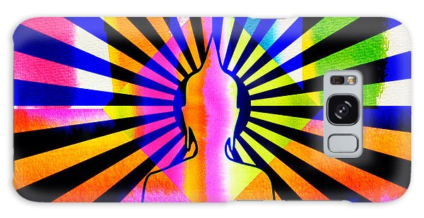 Rainbow Buddha Galaxy Case