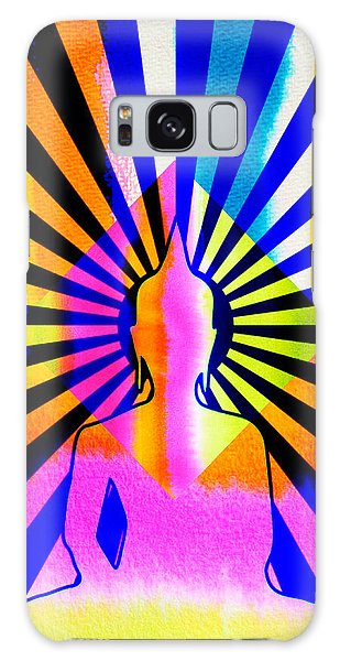 Rainbow Buddha Galaxy Case