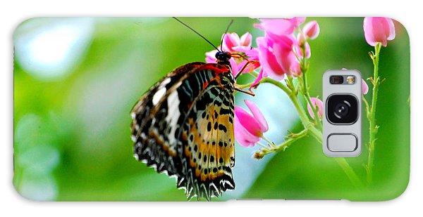 Rainbow Butterfly Galaxy Case