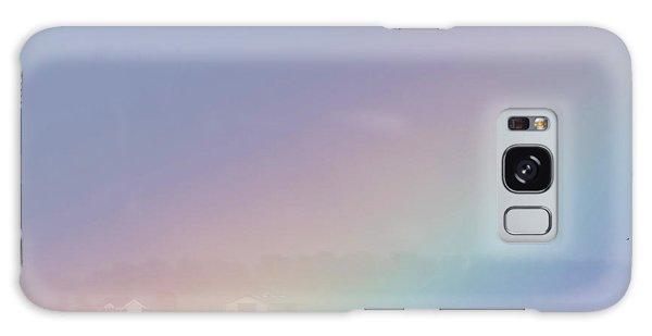 Rainbow Close Up Galaxy Case