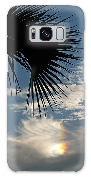 Rainbow Cloud Galaxy Case by Peg Urban