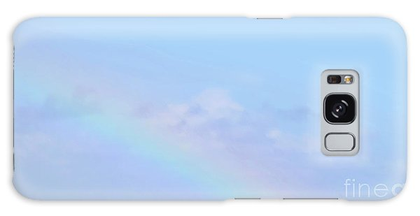 Galaxy Case featuring the digital art Rainbow Clouds And Sky by Francesca Mackenney