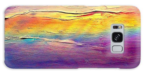 Rainbow Clouds Full Spectrum -dedicated                     Galaxy Case