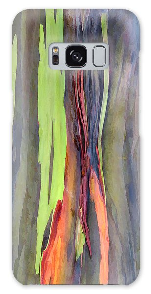 Rainbow Eucalyptus 13 Galaxy Case by Dawn Eshelman