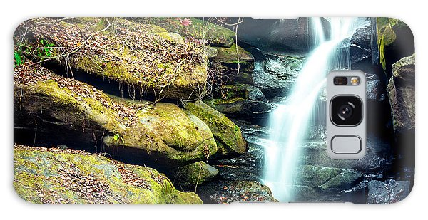 Galaxy Case featuring the photograph Rainbow Falls At Dismals Canyon by David Morefield