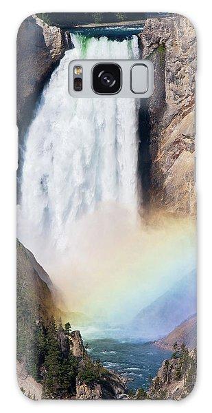 Rainbow Falls Galaxy Case