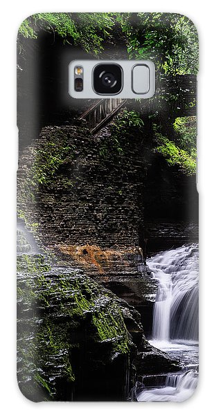 Galaxy Case featuring the photograph Rainbow Falls by Edgars Erglis