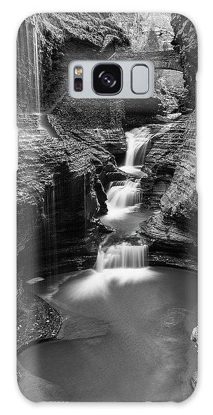 Rainbow Falls Gorge - Watkins Glen Galaxy Case