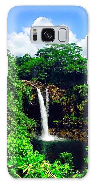 Rainbow Falls Hilo Hawaii Galaxy Case