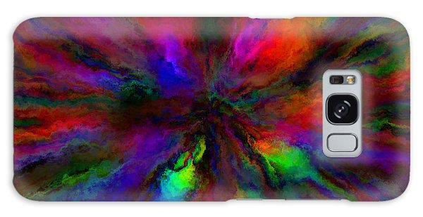 Rainbow Grunge Abstract Galaxy Case
