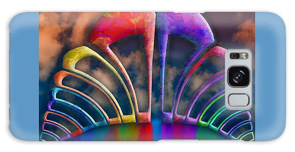 Rainbow Hill Galaxy Case by Paul Wear