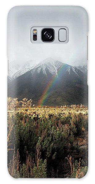 Rainbow In Eastern Sierra Nevadas Galaxy Case